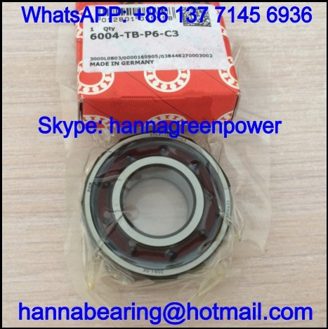 6313TBP6C3 / 6313-TB-P6-C3 High Speed Deep Groove Ball Bearing 65*140*33mm