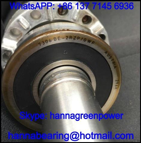 7208BE-2RZP Sealed Angular Contact Ball Bearing 40x80x18mm