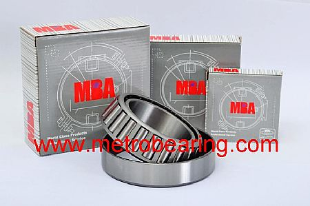 62000-2RS MBA Deep Groove Ball Bearing Double Rubber Sealed