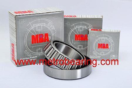 6203-ZZ MBA Deep Groove Ball Bearing Double Shielded