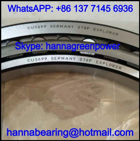 CU3699 Single Row Tapered Roller Bearing