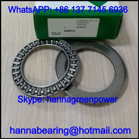 AXW45 Thrust Roller Bearing / Axial Needle Roller Bearing 45x68x8.2mm