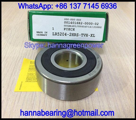 LR5204-2RS Cam Follower Bearing / Track Roller Bearing 20x52x20.6mm