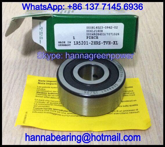 LR5208-2RS Cam Follower / Track Roller Bearing 40x85x30.2mm