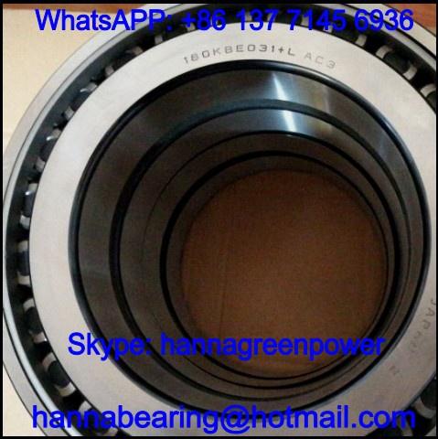 HR60KBE43+L / 60KBE43+L Double Row Tapered Roller Bearing 60x130x74mm