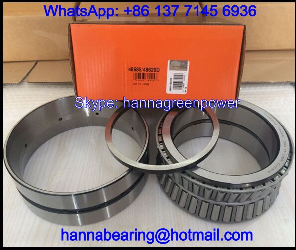 48685/48620D Double Row Tapered Roller Bearing 142.875x200.025x87.315mm
