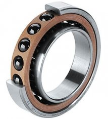 Double row cylindrical roller bearing with ribs JC6