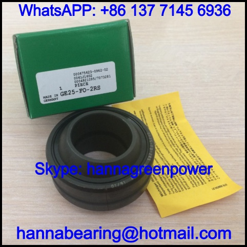 GE180-FO-2RS / GE180FO-2RS Spherical Plain Bearing 180*290*155mm
