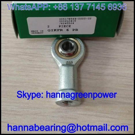 GIKFL18PB / GIKFL 18 PB Rod End Bearing 18x23x94mm
