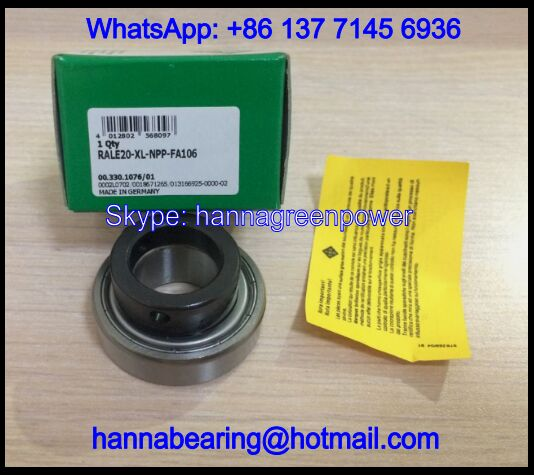 RALE30-XL-NPP Insert Bearing with Eccentric Collar 30x55x26.5mm
