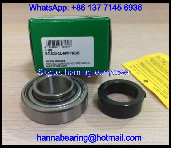 RALE30 Insert Ball Bearing with Eccentric Collar 30x55x26.5mm