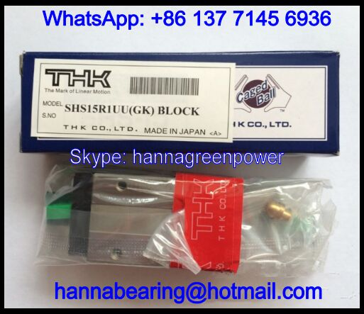 SHS55LR1SS Guideway Carriage / Linear Guide Block 80x100x213mm