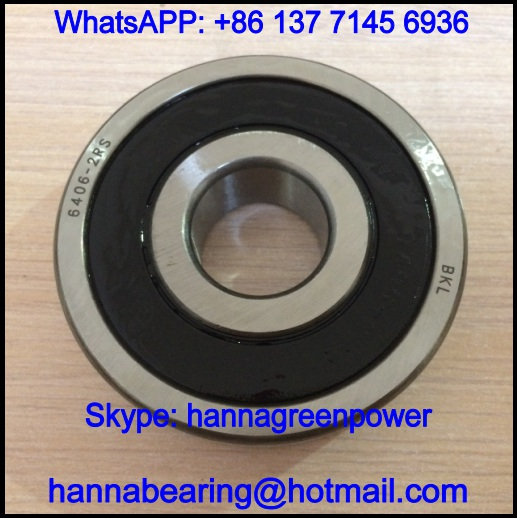 180407 Single Row Deep Groove Ball Bearing 35x100x25mm