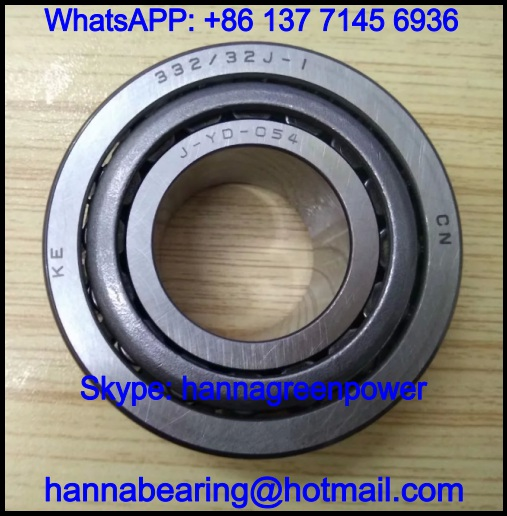 332/32 Automobile Tapered Roller Bearing 32x65x26mm