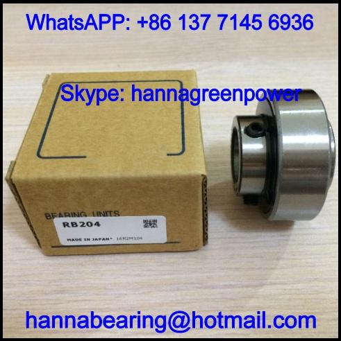RB207 Insert Ball Bearing with Set Screw Lock 35x72x42.9mm