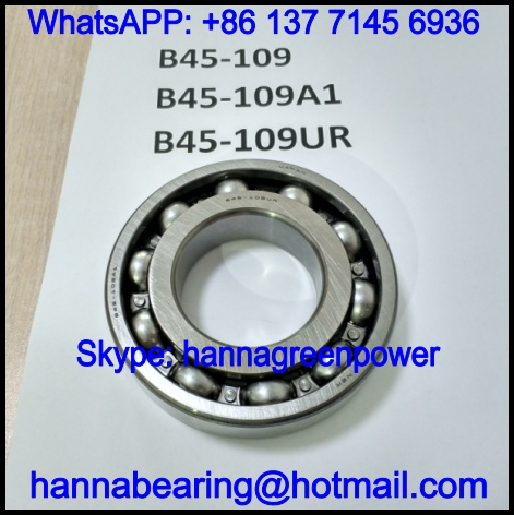 B45-109 Automobile Bearing / Deep Groove Ball Bearing 45x90x20mm