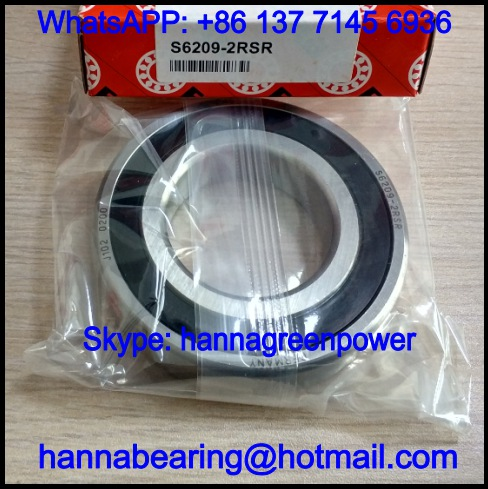 S6209 / SS6209 Stainless Deep Groove Ball Bearing 45*85*19mm