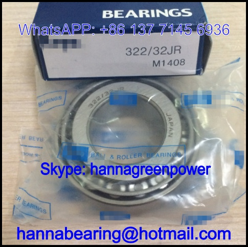 322/32 Automobile Bearing / Tapered Roller Bearing 32*65*22.25mm