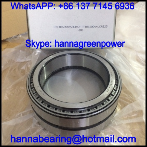 HTF48685G3SAUR4601 Inch Tapered Roller Bearing 142.875*200.025*87.315mm