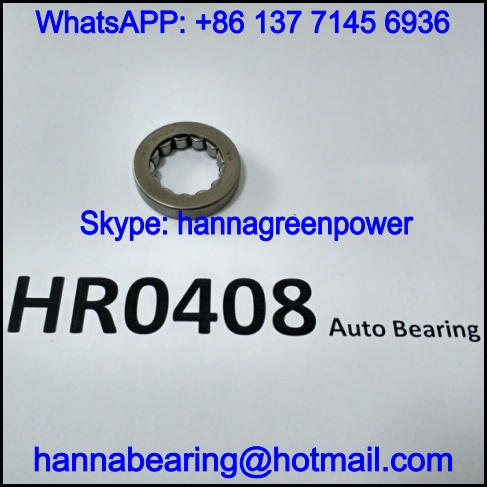 HR0408 Automobile Bearing / Needle Roller Bearing 19x32x6.5mm
