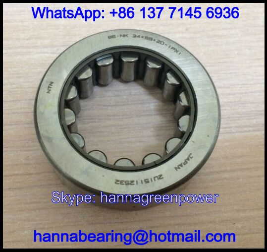 91102-PF0-003 Auto Gearbox Bearing / Needle Roller Bearing 38.5x67x17mm