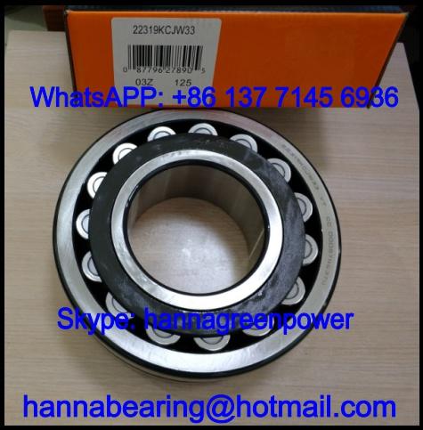 23226KCJW33 Steel Cage Spherical Roller Bearing 130x230x80mm