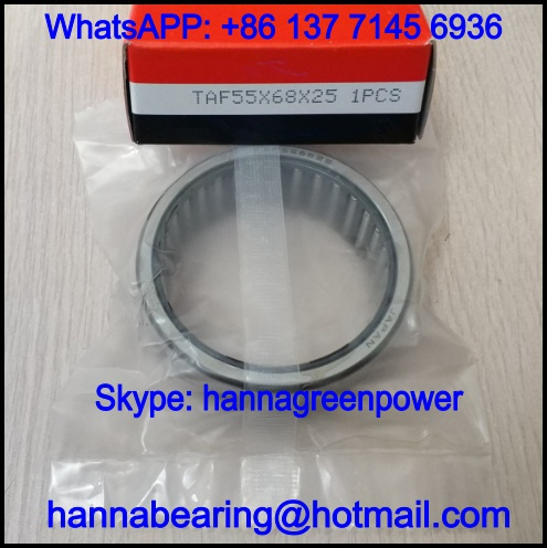 TAF455530 Machined Needle Roller Bearing / Caged Needle Bearing 45x55x30mm