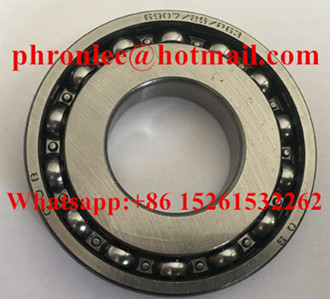 6907/P63 Deep Groove Ball Bearing 25x55x10mm