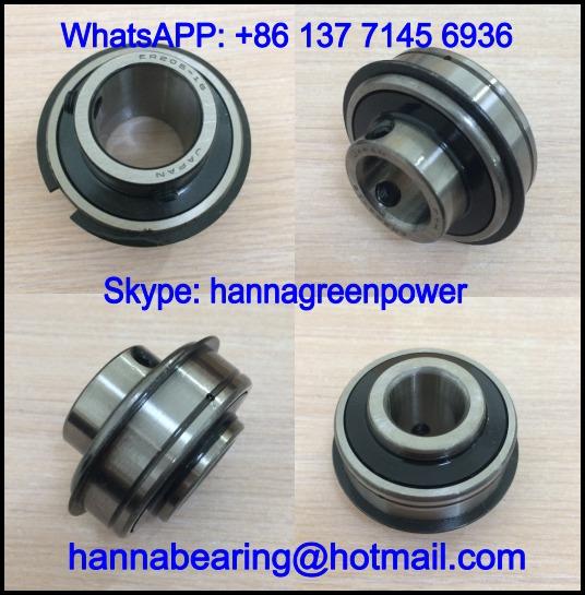 ER208-25 / ER 208-25 Insert Ball Bearing with Snap Ring 39.688x80x49.2mm