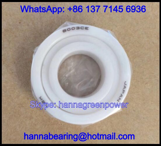 6000CE Ceramic Ball Bearing / Deep Groove Ball Bearing 10x26x8mm