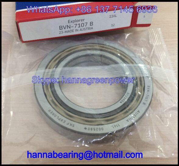 BVN-7107B Angular Contact Ball Bearing / Air Compressor Bearing 70x125x24mm