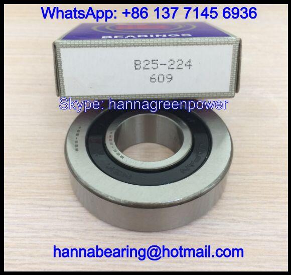 B25-224VV Deep Groove Ball Bearing / Fanuc Motor Spindle Bearing 25x62x16mm