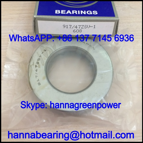 917/38.5ZSV-1 Automobile Bearing / Thrust Roller Bearing