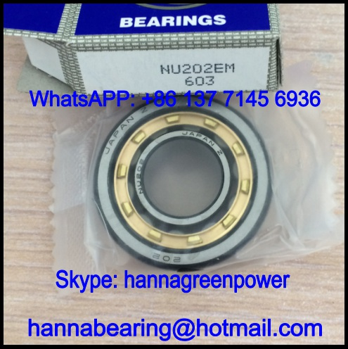 32202Q1 Single Row Cylindrical Roller Bearing 15x35x11mm