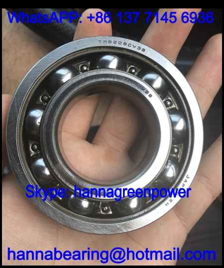 TMB208CV35 Gear Box Bearing / Deep Groove Ball Bearing 40x80x18mm