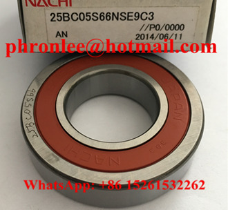 25BC05S66NSE9 Deep Groove Ball Bearing 25x50x12mm