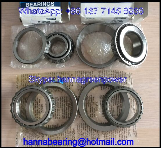 CR12A19 Auto Gearbox Bearing / Tapered Roller Bearing 60x107x17.9mm