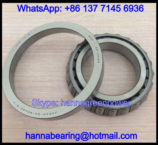 CR10A72STPX1V2 Gearbox Bearing / Tapered Roller Bearing 48.45*92.9*26.5mm