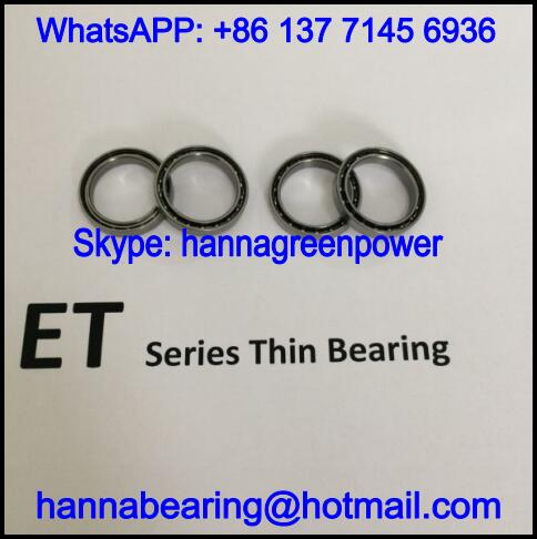 ET2316ZZS / ET2316ZS Extra Thin Ball Bearing 16x23x4.5mm