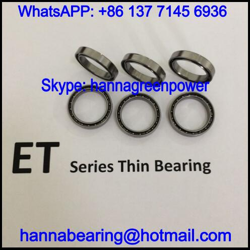 ET2520-2Z Thin Section Bearing / ET2520Z Deep Groove Ball Bearing 20x25x4mm