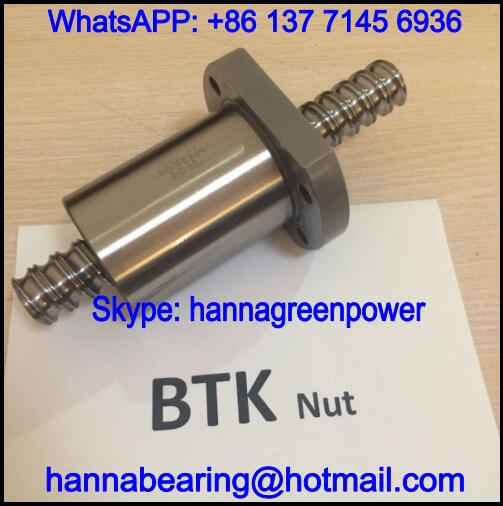 BTK4010-5.3 / BTK4010-5.3ZZ Ball Screw Nut 40x76x100mm