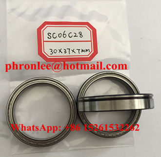 SC06C28ZZNR#01 Deep Groove Ball Bearing 30x37x7mm