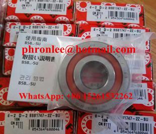 BSB050100-T Ball Screw Support Bearing 50x100x20mm