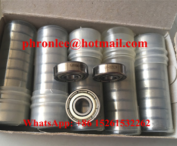 MR128-2Z Deep Groove Ball Bearing 8x12x3.5mm