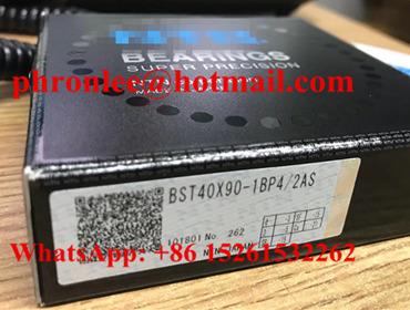 BST40X72-1BP4/2AS Ball Screw Support Bearing 40x72x15mm