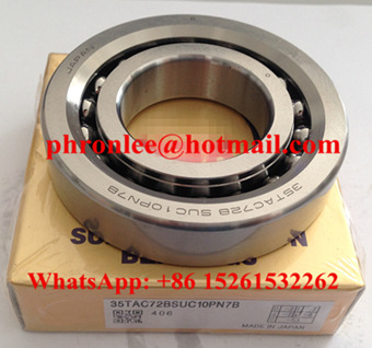 55TAC120BSUC10PN7B Ball Screw Support Bearing 55x120x20mm