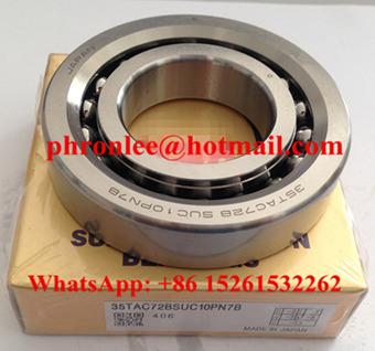 60TAC120BDUC10PN7B Ball Screw Support Bearing 60x120x20mm