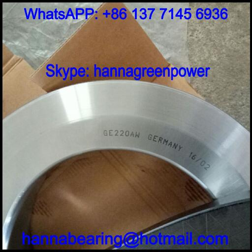 GE220-AW / GE220AW Thrust Spherical Plain Bearing 220x370x97mm