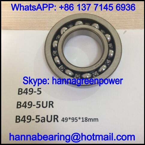 B49-5aUR Automotive Bearing / Deep Groove Ball Bearing 49*95*18mm