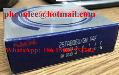 45TAB10DT/GM P4F Ball Screw Support Bearing 45x100x20mm